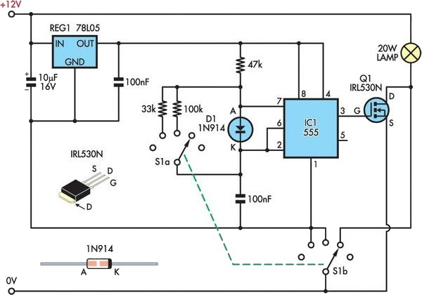 halogen lamp power supply circuit diagram  halogen  free