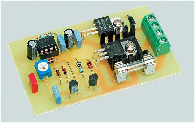 12v Speed Controller  Dimmer Circuit Diagram