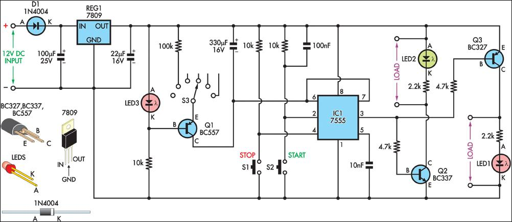 4-20mA Current Loop Tester Circuit Diagram