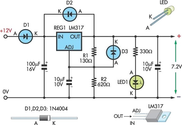 alternator wiring diagram lucas images wiring diagram also lm317 voltage regulator schematic on lm317