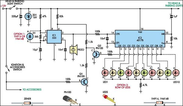 Automatic headlight reminder circuit diagram cheapraybanclubmaster Images