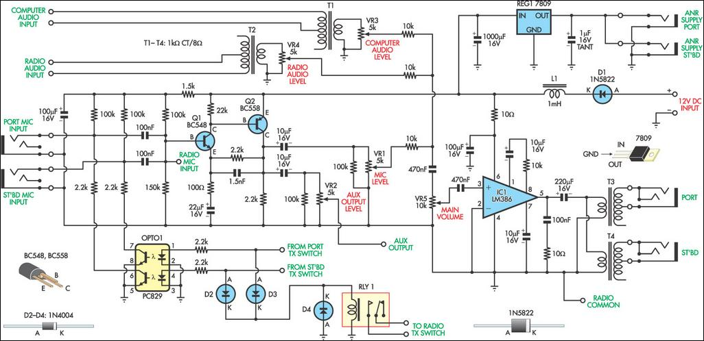 aviation intercom circuit diagram 2 aviation intercom circuit diagram aircraft intercom wiring diagram at bayanpartner.co