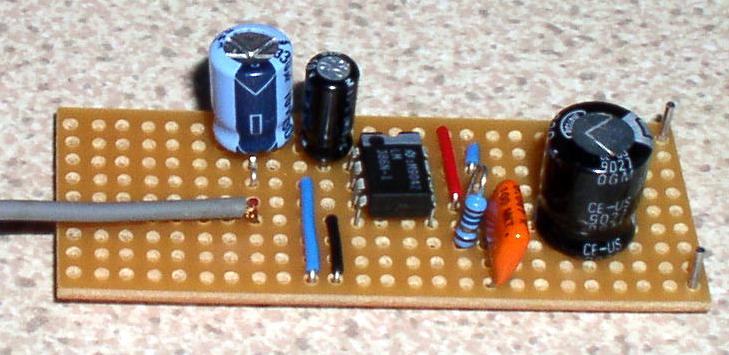 Very Simple Bench Amplifier Circuit Diagram