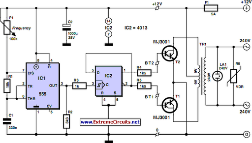 cheap 12v to 220v inverter circuit diagram. Black Bedroom Furniture Sets. Home Design Ideas