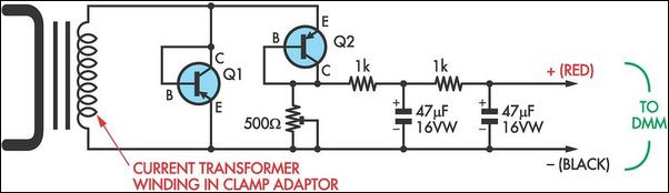 Cheap Ac Current Measurement Circuit Diagram
