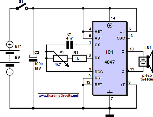 environmentally friendly mosquito repeller circuit diagram rh learningelectronics net
