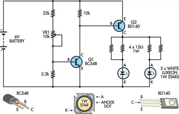 6v Led Circuit Diagram. Fabulous Light Circuit Diagram Electronics ...