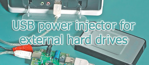 usb power injector for external hard drives circuit diagram description a portable usb hard drive