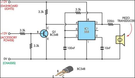 Headlight reminder circuit diagram swarovskicordoba Image collections