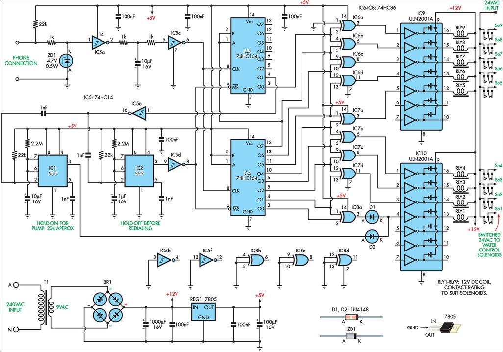 Inexpensive remote watering system circuit diagram swarovskicordoba Images