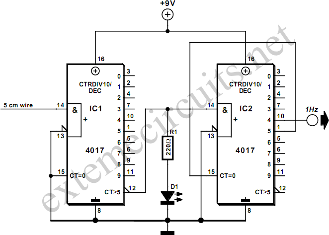 Isolated 1 hz clock circuit diagram isolated 1hz clock circuit diagram ccuart