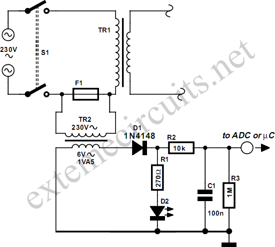 isolated fuse fail indicator circuit diagram 2 png rh learningelectronics net Allen Bradley Fuse Indicators Fuse Panel