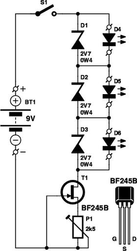 led tester circuit diagram circuit diagram
