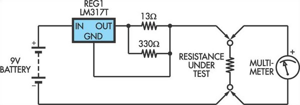 Fine Low Ohms Adaptor For Dmms Based On An Lm317 Regulator Circuit Diagram Wiring 101 Cajosaxxcnl