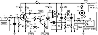 Designators And  ponents 4 as well Mini Guitarbass  lifier besides A Variable Resistor R Is Connected Across The Terminals Of A Battery likewise  on 1m ohm potentiometer