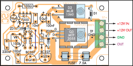 12v speed controller dimmer circuit diagram rh learningelectronics net