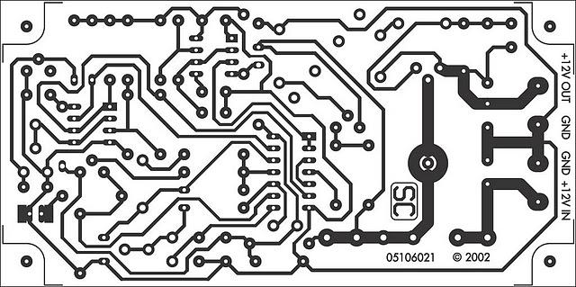 12 volt battery guardian circuit circuit diagram