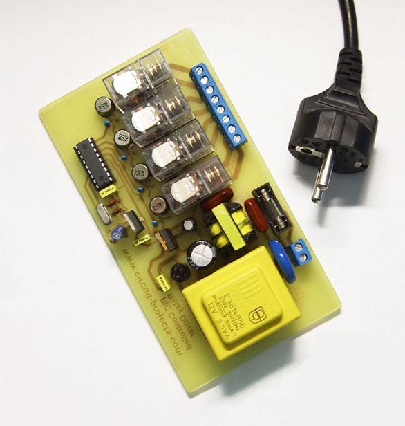 Pic Controlled Relay Driver Circuit Diagram