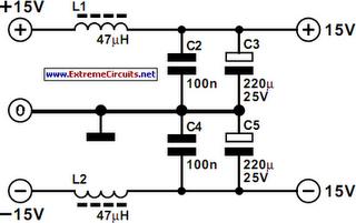 Balanced Microphone Preamplifier Circuit Diagram