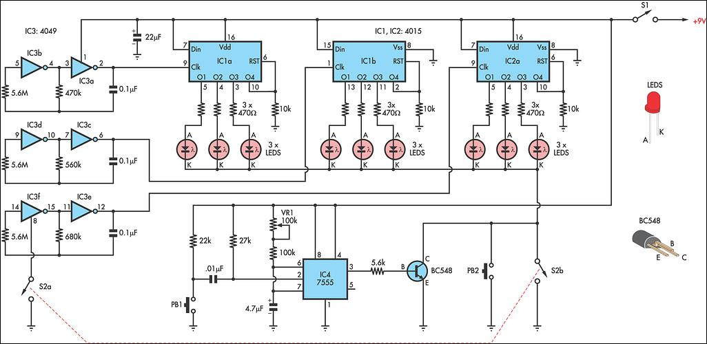 circuits diagram projects – comvt, Circuit diagram