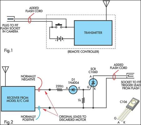 Radio Controlled Electronic Flash Circuit Schematic - DATA WIRING ...