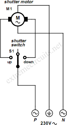 rolling_shutter_control_circuit_diagram rolling shutter motor control circuit diagram electric shutter wiring diagram at n-0.co