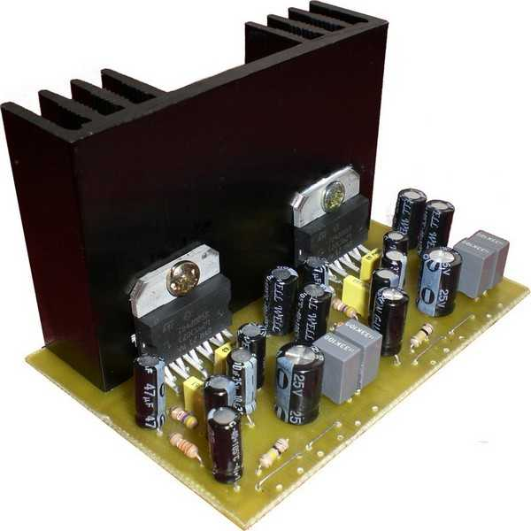 Schematic Power Amplifier With Ic An7116 Mono Amplifier