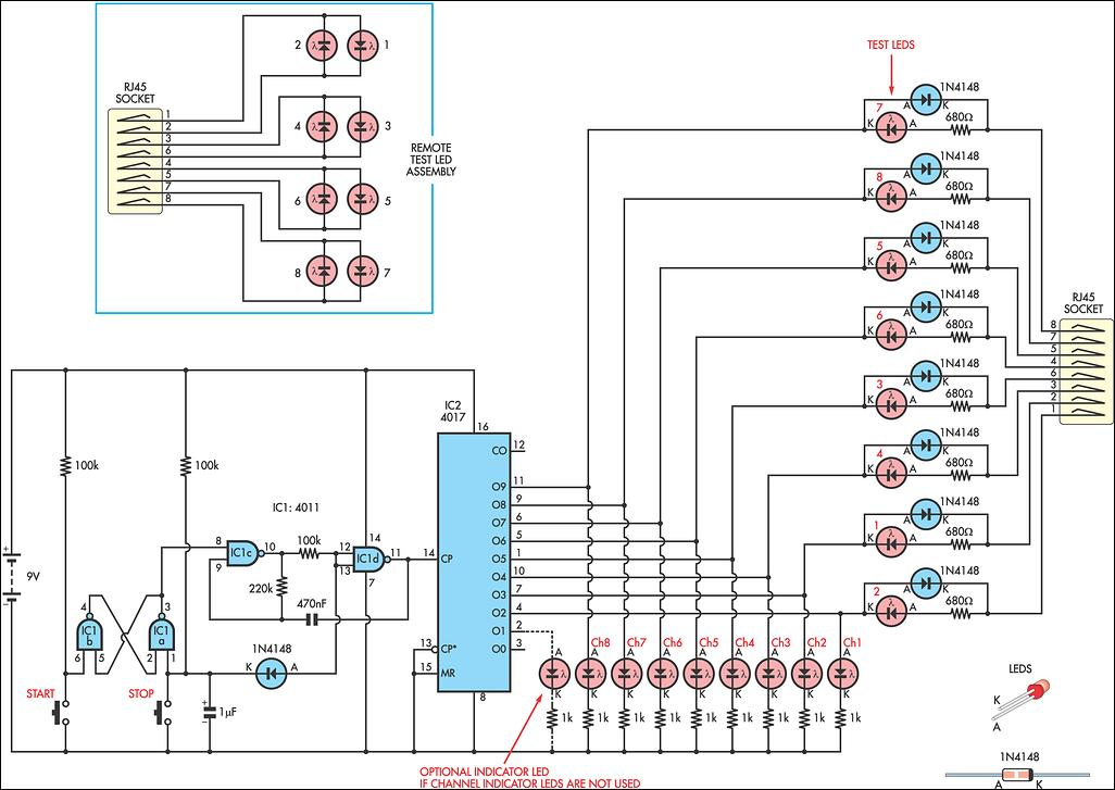 cat5 wiring diagram tester cat5 discover your wiring diagram simple cat5 work tester circuit diagram