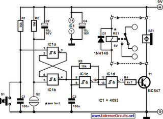 Ge Mechanically Held Lighting Contactor together with Reverse Polarity Relay Diagram together with Power Switching Relay Wiring Diagram in addition 11 Flat Pin Relay Wiring Diagram additionally 12v Dpdt Automotive Relay. on latching relay circuit diagram