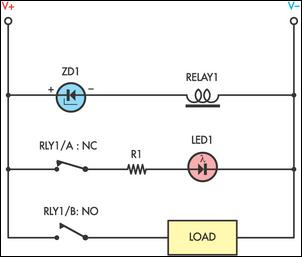 Simple under voltage cut out circuit diagram simple under voltage cut out circuit schematic swarovskicordoba