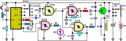 Sleeping Aid Schematic - Circuit Diagram Circuit DiagramLearning Electronics