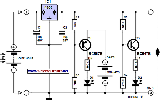 Excellent Solar Cell Voltage Regulator Circuit Diagram Wiring Digital Resources Sapredefiancerspsorg