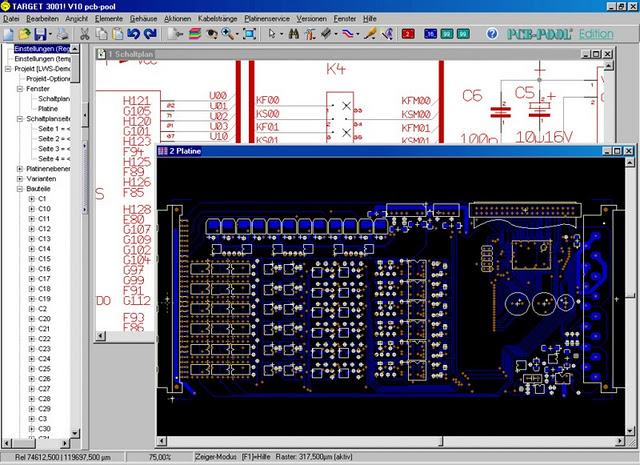 Free Download Target 3001 V13 PCB-POOL Edition Circuit Diagram