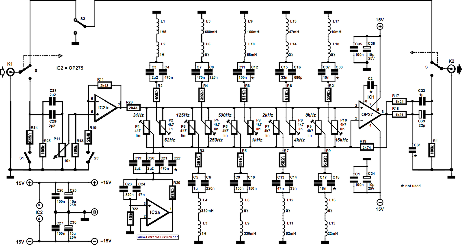 5 Band Equalizer Circuit Diagram FULL HD Version Circuit Diagram -  THUY-MANUAL.UNIFORMCREW.ITDiagram Database And Images