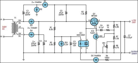 ultra-low-drop-linear-voltage-regulator-circuit-diagram-2 Linear Gate Motor Wiring Diagram on
