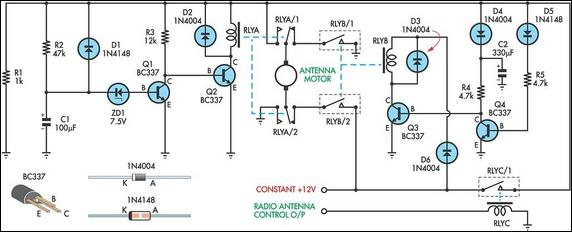 up down timer for%2B power antena 2 up down timer for a power antenna circuit diagram Relay Switch Wiring Diagram at gsmportal.co