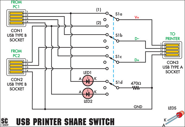 usb printer share switch circuit diagram usb printer share switch circuit project circuit diagram usb circuit diagram at eliteediting.co