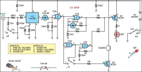 video tracer for trouble shooting circuit diagram rh learningelectronics net wire tracer circuit schematic wire tracer schematic diagram