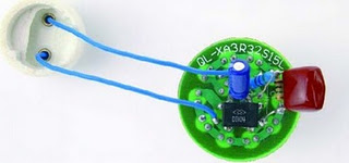 Mains Operated White LED Lamp Circuit