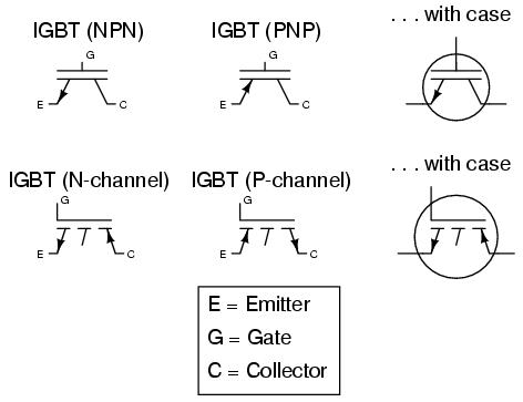 Transistors, hybrid : CIRCUIT SCHEMATIC SYMBOLS