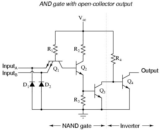 ttl nand and and gates   logic gates