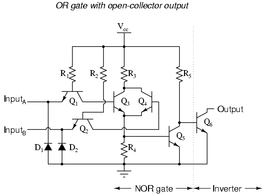 ttl nor and or gates   logic gates