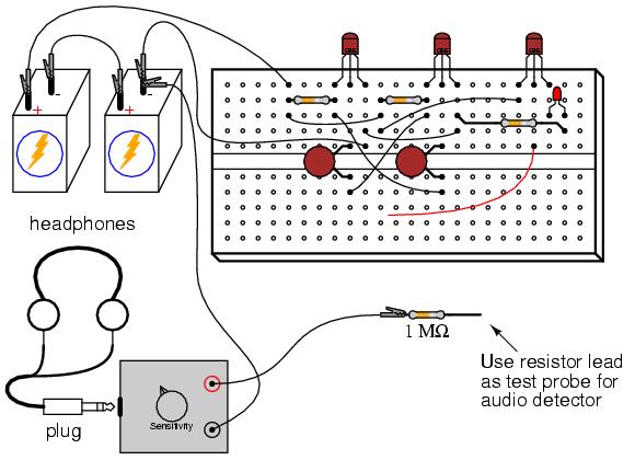 audio oscillator   discrete semiconductor circuits