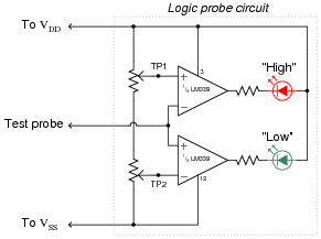 Cmos on threshold schematic circuit diagram