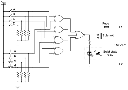 Schematic Diagram Of Logic Gates - Wiring Diagram and Schematics