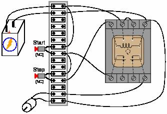 X on Latching Relay Circuit Diagram