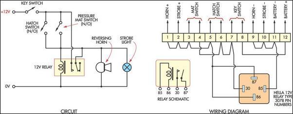 Burglar Alarm For Boats Circuit Diagram, House Alarm Wiring Diagrams Pdf
